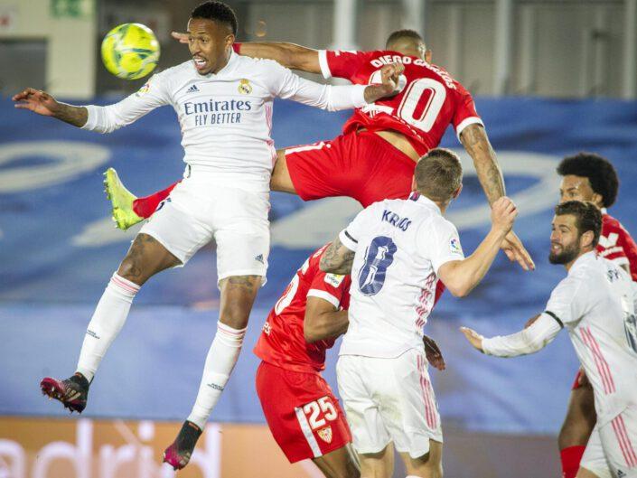Real Madrid - Sevilla temporada 20/21